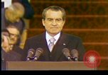 Image of President Richard Nixon Washington DC USA, 1973, second 4 stock footage video 65675057172