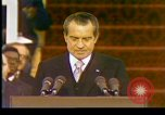 Image of President Richard Nixon Washington DC USA, 1973, second 5 stock footage video 65675057172