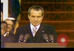 Image of President Richard Nixon Washington DC USA, 1973, second 6 stock footage video 65675057172