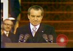 Image of President Richard Nixon Washington DC USA, 1973, second 7 stock footage video 65675057172