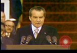 Image of President Richard Nixon Washington DC USA, 1973, second 8 stock footage video 65675057172