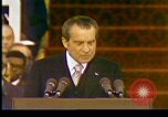 Image of President Richard Nixon Washington DC USA, 1973, second 9 stock footage video 65675057172