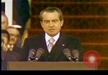 Image of President Richard Nixon Washington DC USA, 1973, second 10 stock footage video 65675057172