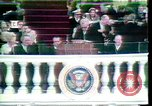 Image of Spiro Agnew swearing-in Washington DC USA, 1969, second 4 stock footage video 65675057199