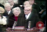 Image of Reverand Billy Graham Washington DC USA, 1969, second 9 stock footage video 65675057202