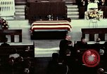 Image of J Edgar Hoover funeral Washington DC USA, 1972, second 9 stock footage video 65675057214