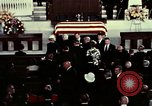 Image of J Edgar Hoover funeral Washington DC USA, 1972, second 6 stock footage video 65675057215
