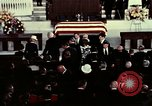 Image of J Edgar Hoover funeral Washington DC USA, 1972, second 8 stock footage video 65675057215