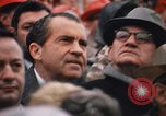 Image of President Richard Nixon Fayetteville Arkansas USA, 1969, second 8 stock footage video 65675057260