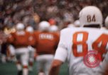 Image of Texas versus Arkansas football game Fayetteville Arkansas USA, 1969, second 2 stock footage video 65675057261