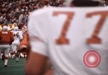 Image of Texas versus Arkansas football game Fayetteville Arkansas USA, 1969, second 4 stock footage video 65675057261