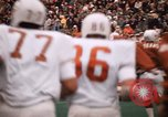 Image of Texas versus Arkansas football game Fayetteville Arkansas USA, 1969, second 5 stock footage video 65675057261