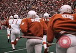 Image of Texas versus Arkansas football game Fayetteville Arkansas USA, 1969, second 6 stock footage video 65675057261