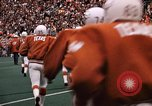 Image of Texas versus Arkansas football game Fayetteville Arkansas USA, 1969, second 7 stock footage video 65675057261