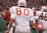 Image of Texas versus Arkansas football game Fayetteville Arkansas USA, 1969, second 8 stock footage video 65675057261