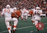 Image of Texas versus Arkansas football game Fayetteville Arkansas USA, 1969, second 9 stock footage video 65675057261