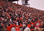 Image of Texas versus Arkansas football game Fayetteville Arkansas USA, 1969, second 11 stock footage video 65675057261