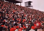 Image of Texas versus Arkansas football game Fayetteville Arkansas USA, 1969, second 12 stock footage video 65675057261