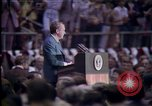 Image of President Nixon speech Jackson Mississippi USA, 1974, second 7 stock footage video 65675057301