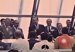 Image of President Nixon at Apollo 12 launch Florida United States USA, 1969, second 11 stock footage video 65675057314