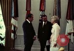 Image of President Richard Nixon Washington DC USA, 1973, second 7 stock footage video 65675057322