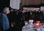 Image of Nixon and Enlai dine Beijing China, 1972, second 10 stock footage video 65675057339