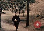 Image of Nixon in Flower Fort Park Hangchow China, 1972, second 2 stock footage video 65675057364