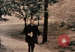 Image of Nixon in Flower Fort Park Hangchow China, 1972, second 3 stock footage video 65675057364