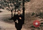 Image of Nixon in Flower Fort Park Hangchow China, 1972, second 4 stock footage video 65675057364