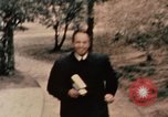Image of Nixon in Flower Fort Park Hangchow China, 1972, second 6 stock footage video 65675057364