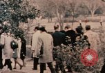 Image of Nixon in Flower Fort Park Hangchow China, 1972, second 10 stock footage video 65675057364