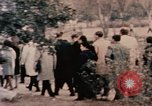 Image of Nixon in Flower Fort Park Hangchow China, 1972, second 12 stock footage video 65675057364