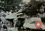 Image of Nixon delegation in Flower Fort Park Hangchow China, 1972, second 1 stock footage video 65675057366