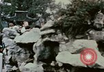 Image of Nixon delegation in Flower Fort Park Hangchow China, 1972, second 2 stock footage video 65675057366