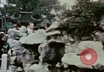 Image of Nixon delegation in Flower Fort Park Hangchow China, 1972, second 3 stock footage video 65675057366