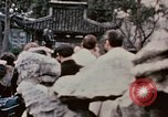 Image of Nixon delegation in Flower Fort Park Hangchow China, 1972, second 9 stock footage video 65675057366