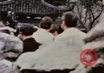 Image of Nixon delegation in Flower Fort Park Hangchow China, 1972, second 10 stock footage video 65675057366