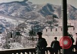 Image of Nixon at the Great Wall China, 1972, second 9 stock footage video 65675057376