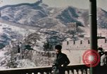 Image of Nixon at the Great Wall China, 1972, second 11 stock footage video 65675057376