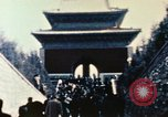 Image of Nixon speaks near Ming Tombs China, 1972, second 8 stock footage video 65675057381