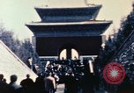 Image of Nixon speaks near Ming Tombs China, 1972, second 9 stock footage video 65675057381
