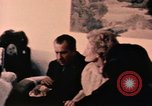 Image of Nixons have tea in China Beijing China, 1972, second 5 stock footage video 65675057386