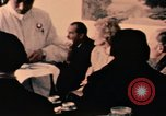 Image of Nixons have tea in China Beijing China, 1972, second 9 stock footage video 65675057386
