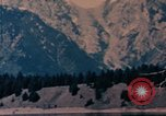 Image of Nixon aide at Jackson Lake United States USA, 1971, second 5 stock footage video 65675057396