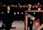 Image of Nixon and Hirohito speak Anchorage Alaska USA, 1971, second 6 stock footage video 65675057406