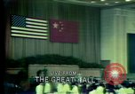 Image of President Richard Nixon Beijing China, 1972, second 5 stock footage video 65675057428