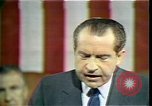 Image of President Richard M Nixon Washington DC USA, 1970, second 2 stock footage video 65675057435