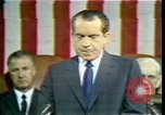 Image of President Richard Nixon Washington DC USA, 1970, second 3 stock footage video 65675057436