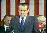 Image of President Richard Nixon Washington DC USA, 1970, second 8 stock footage video 65675057436