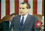 Image of President Richard Nixon Washington DC USA, 1970, second 10 stock footage video 65675057436